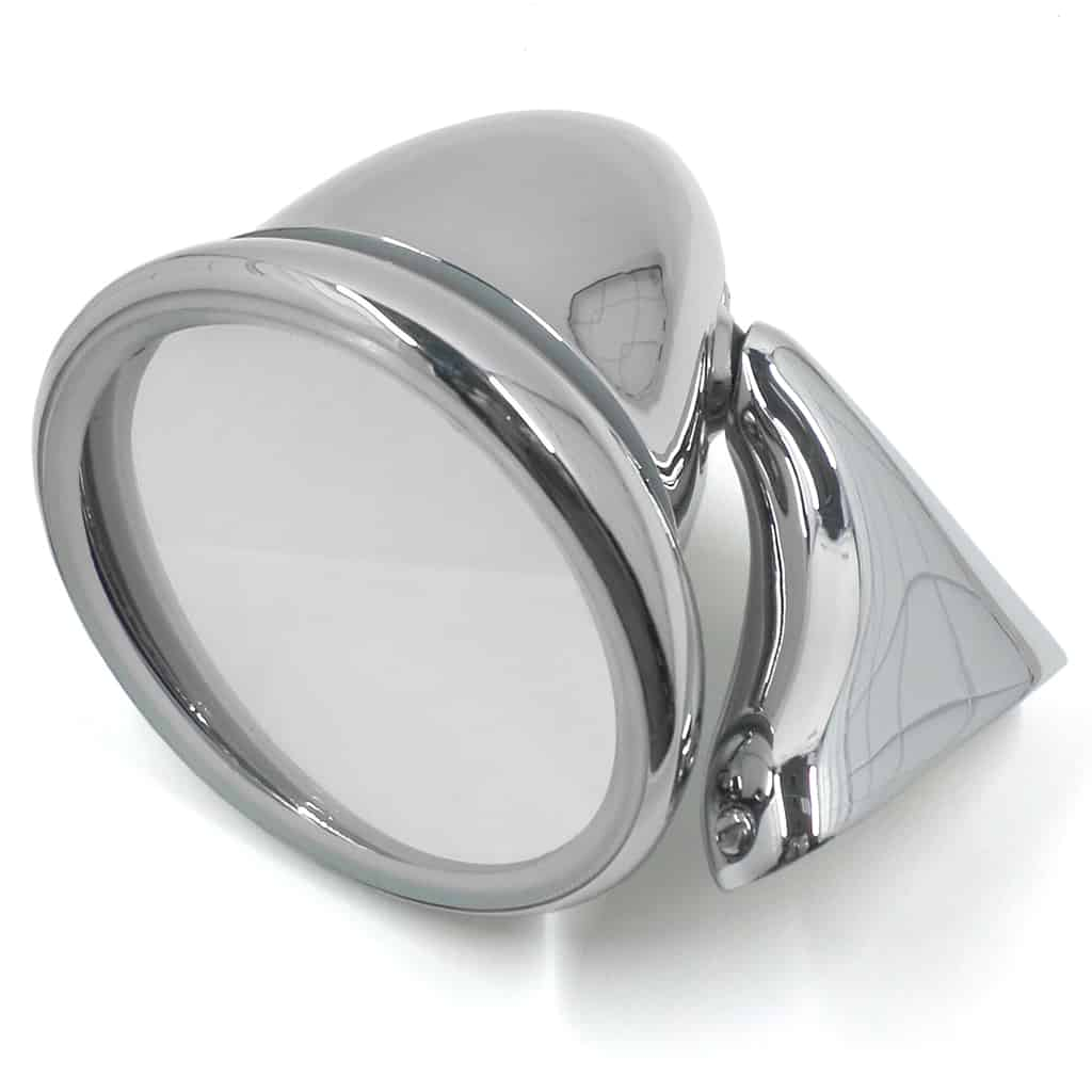 Door Bullet Mirror, convex glass