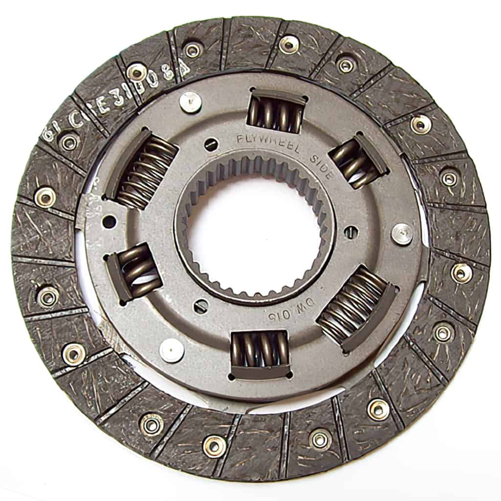 Clutch Disc, Verto, Borg & Beck, 180mm