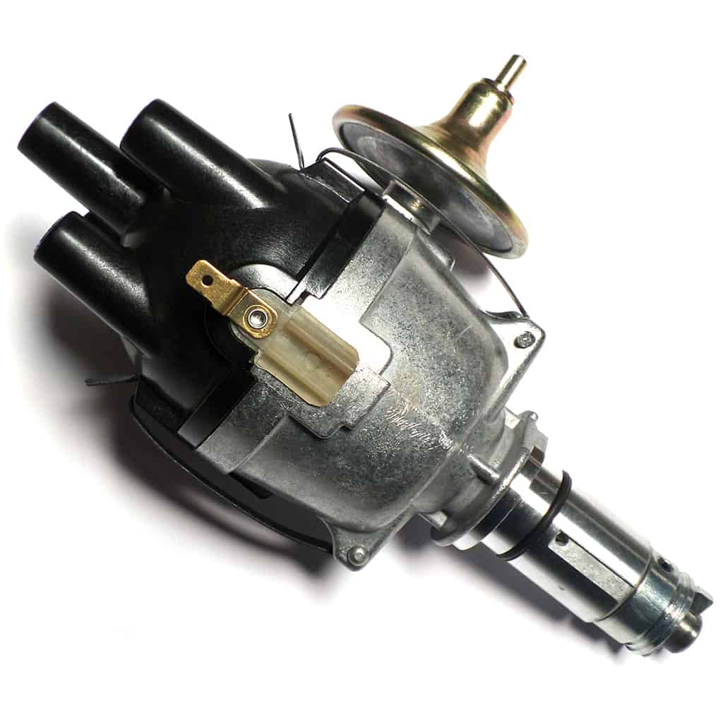 Distributor, Lucas Model 25D, with Vacuum Advance