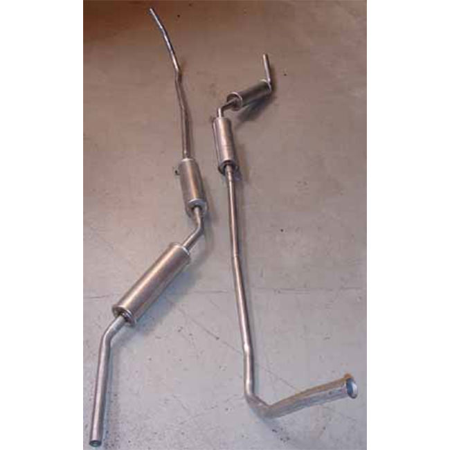 Exhaust System, Van/Estate/Pickup, standard replacement