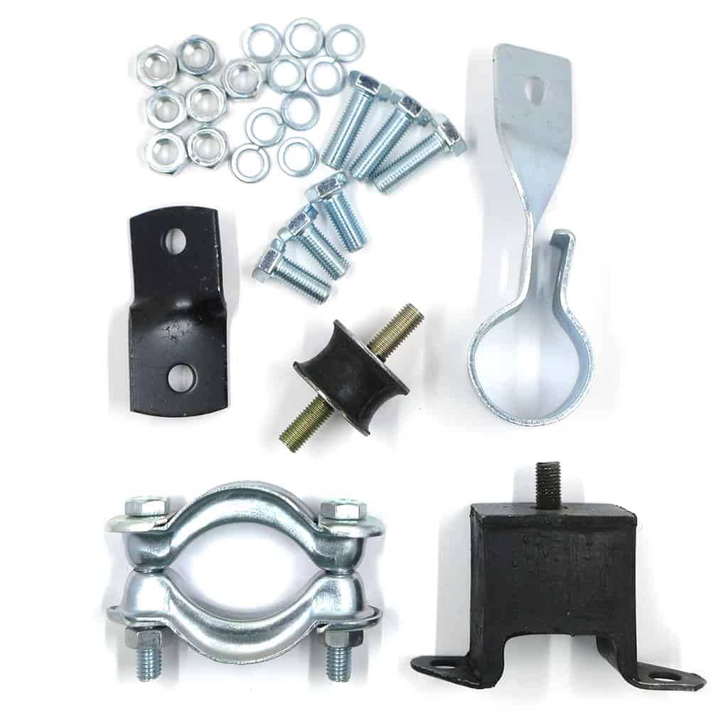 Exhaust Fitting Kit, Stock Cast-Iron Manifold