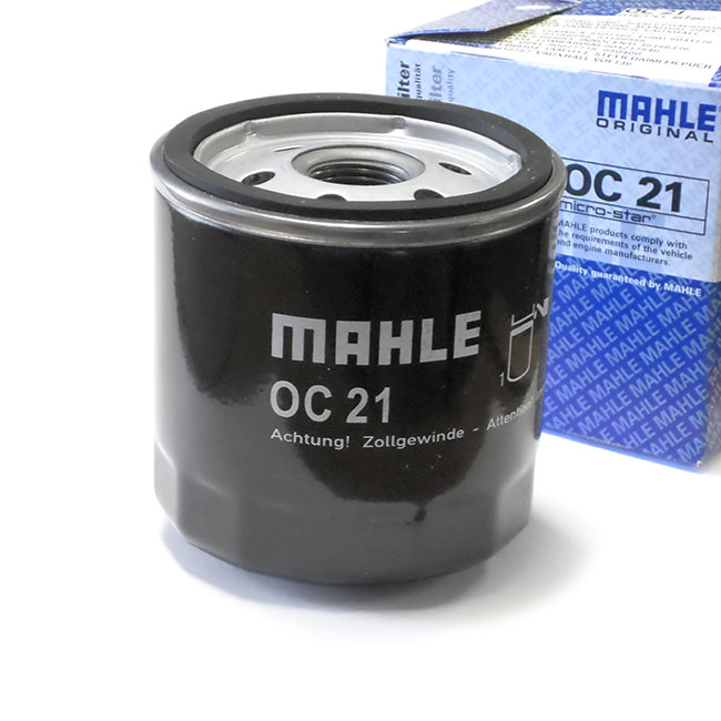 Oil Filter, Spin-on, Premium, Mahle