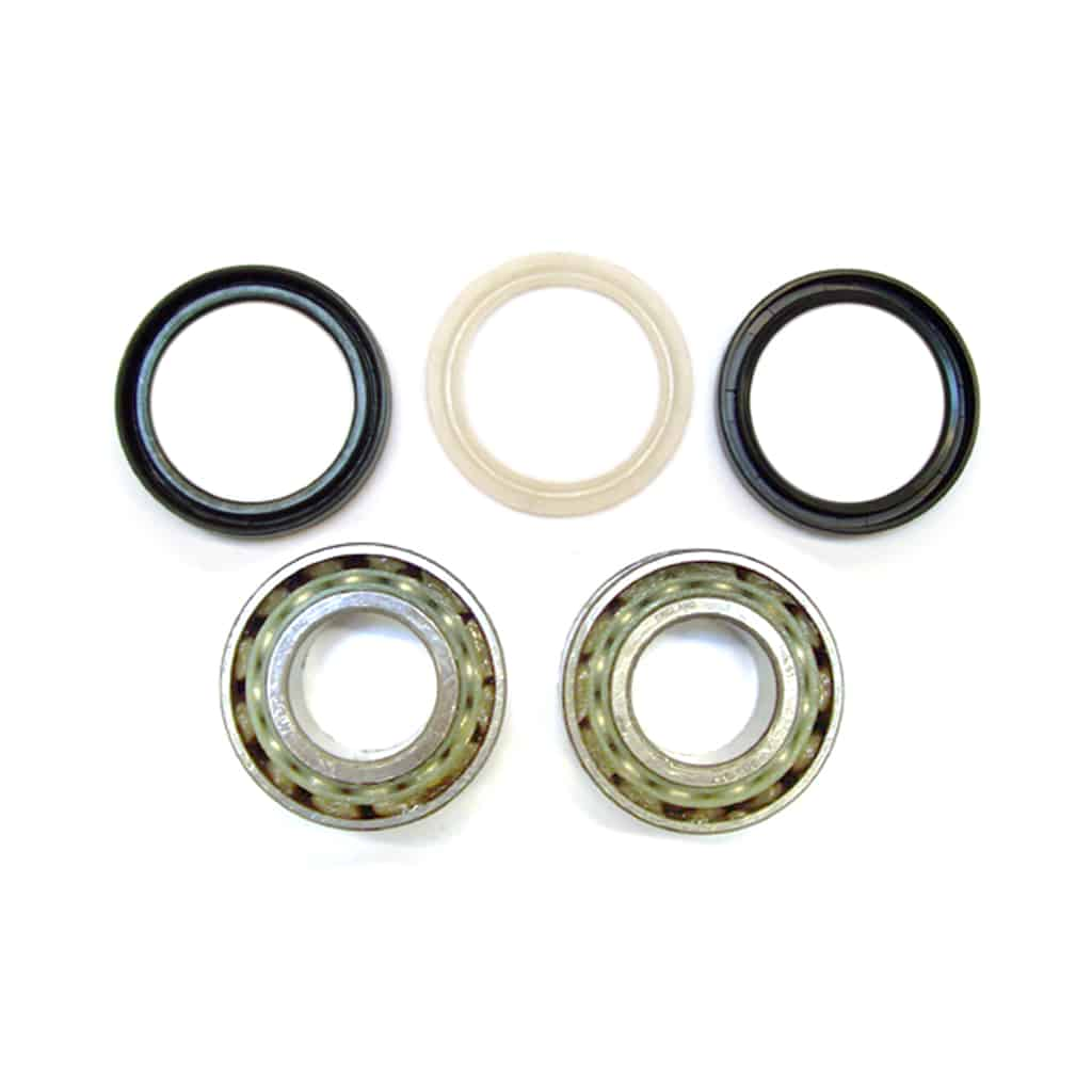 Front Wheel Bearing Kit, Ball Bearing
