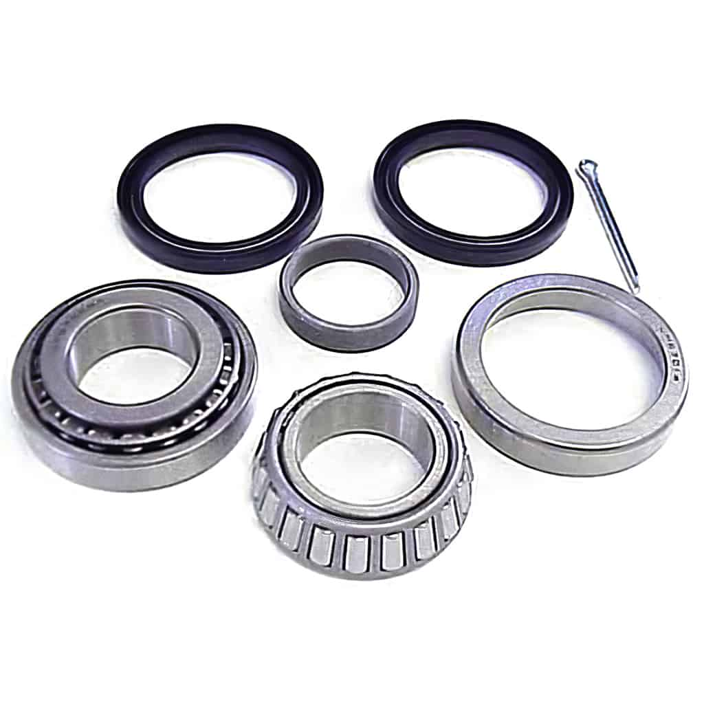 Front Wheel Bearing Kit, Taper Roller