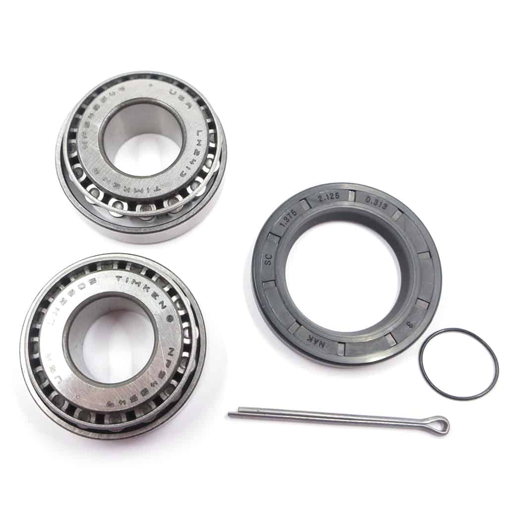 Rear Wheel Bearing Set, Taper Roller, Timken