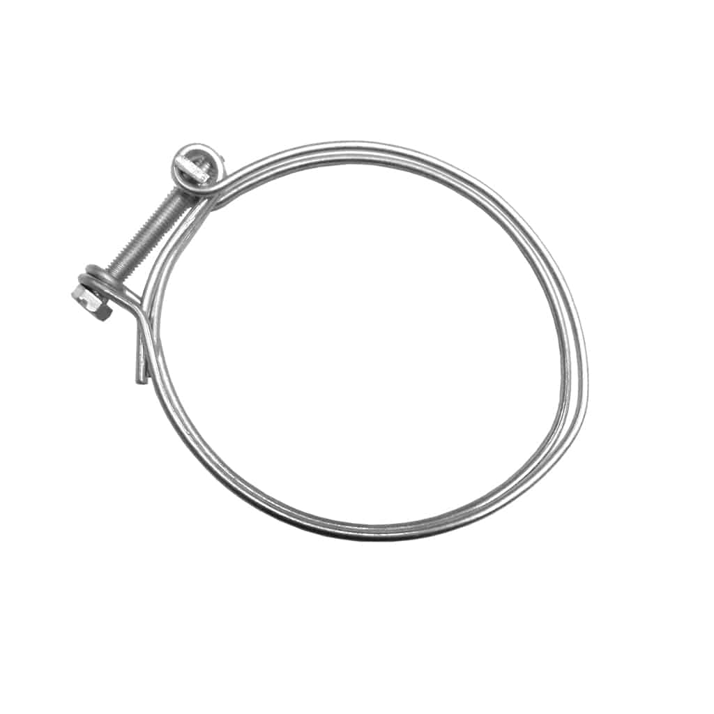 Wire Hose Clamp, Fresh Air Hose