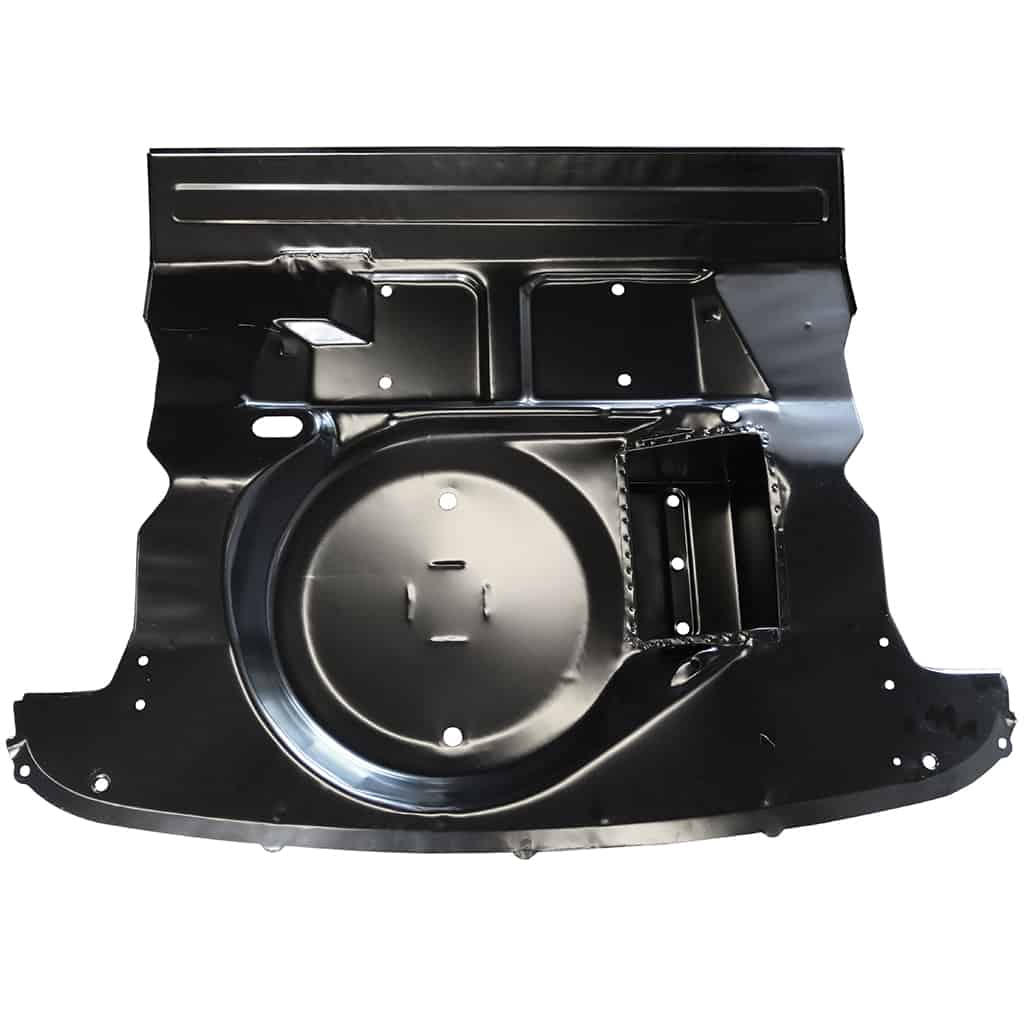 Boot Floor & Seat Base, w/ Battery Box, Heritage