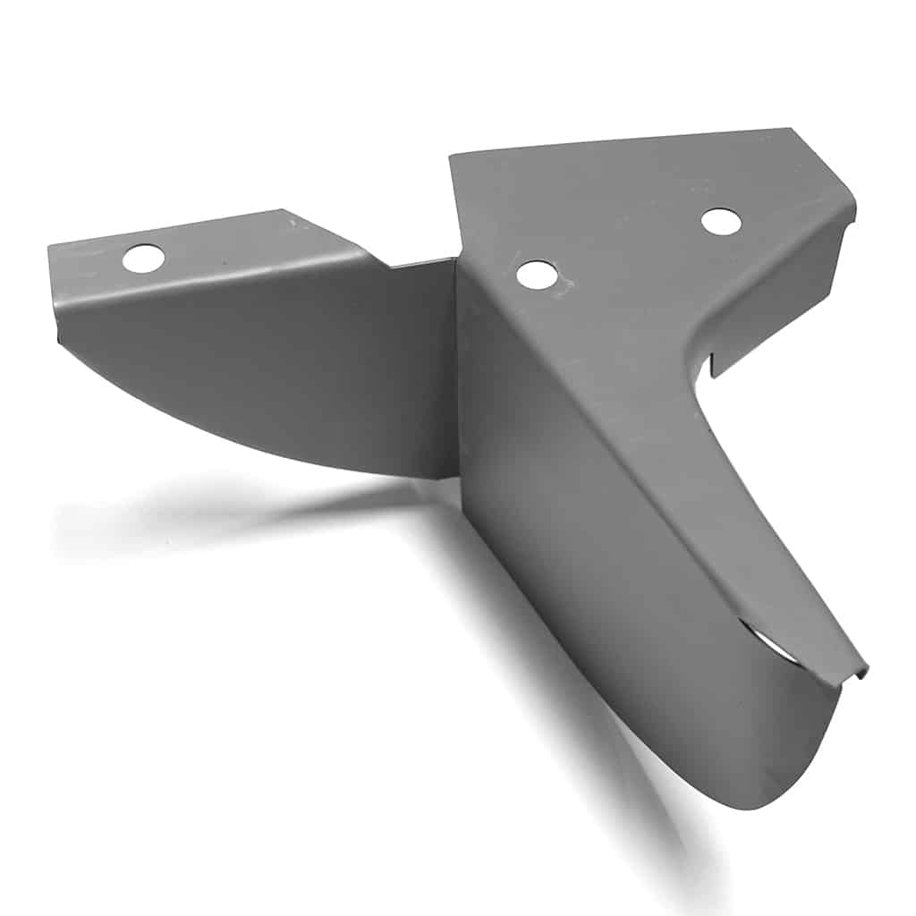 Rear Valance Complete Closing Plate, Saloon