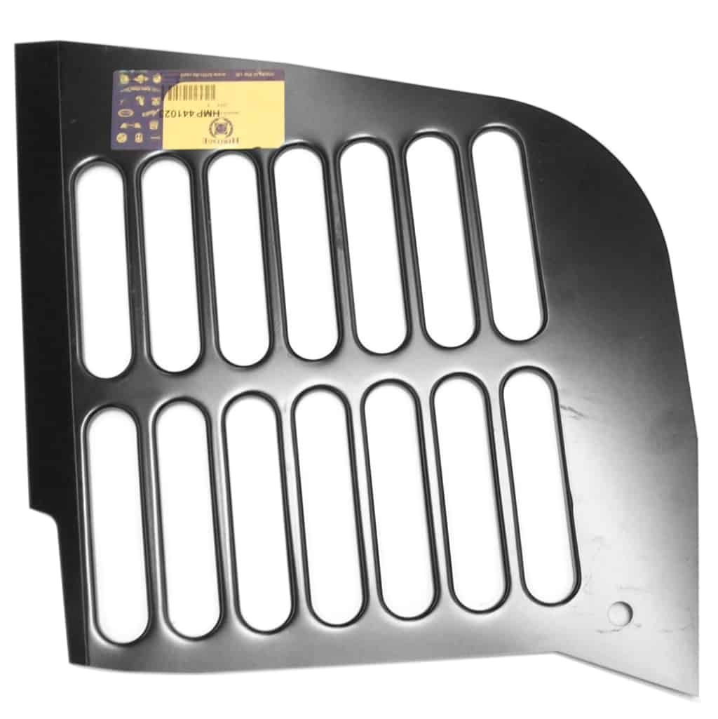 Inner Wing, Radiator Grille Slotted Panel Only, Left Hand