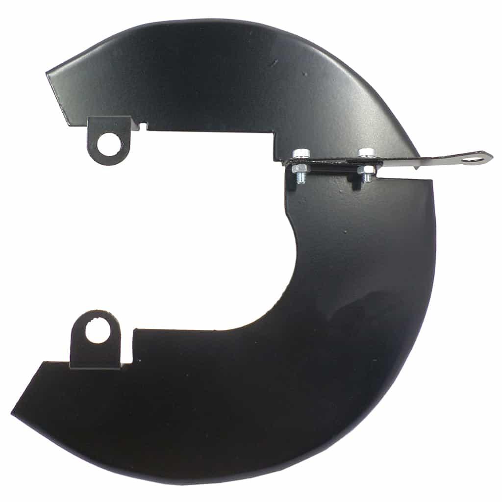 "Disc Brake Dust Shields, 8.4"" disc, Right Hand"