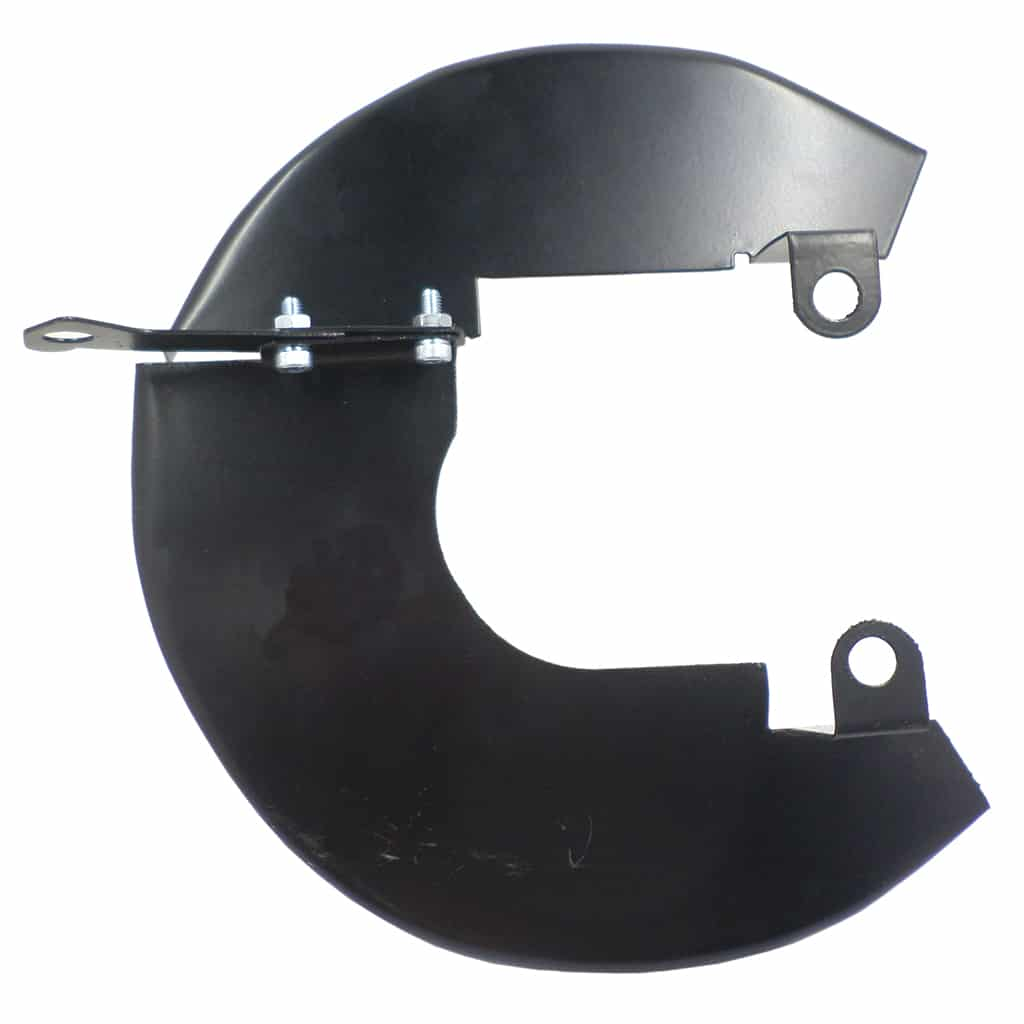 "Disc Brake Dust Shields, 8.4"" disc, Left Hand"