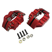 "KAD Alloy 4-Pot Calipers for 7.75"" vented rotor"