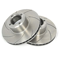 "KAD 8.4"" Brake Rotors, Vented & Slotted"