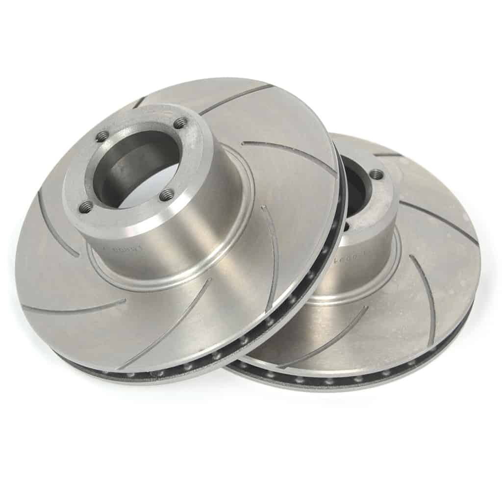 "KAD 7.9"" Brake Rotors, Vented & Slotted"