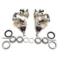 Disc Brake Hubs, aluminum alloy, pair