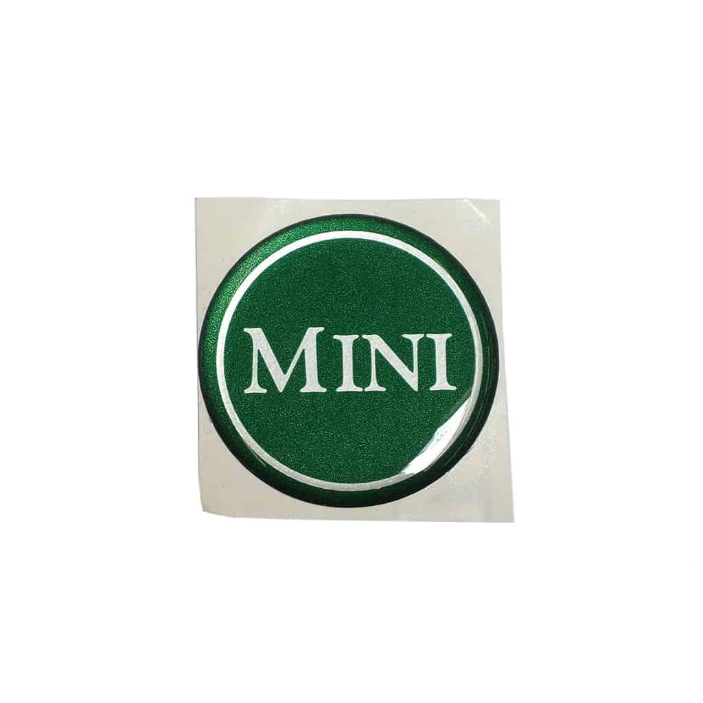 """Badge, Center Cap, """"Mini"""""""