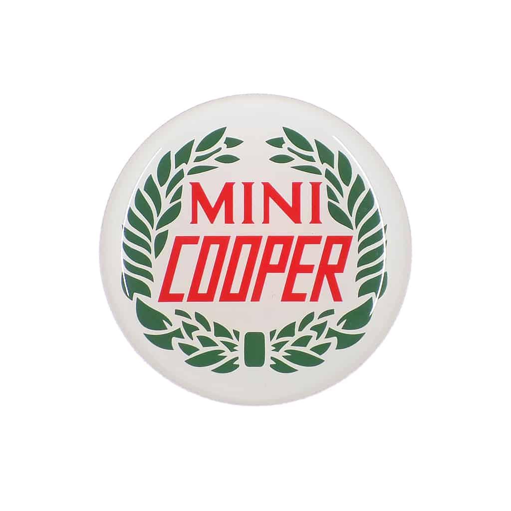 Badge, Center Cap, Mini Cooper