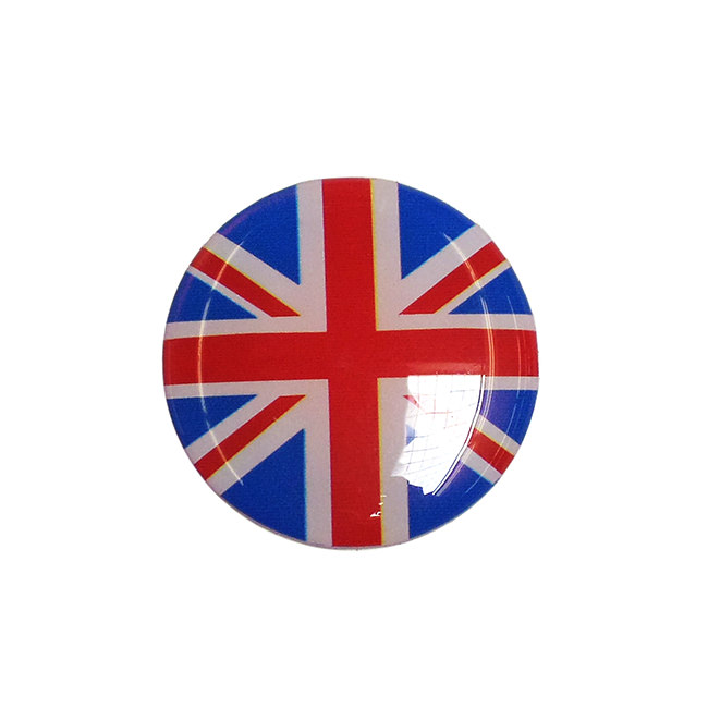 "Badge, Center Cap, ""Union Jack"""
