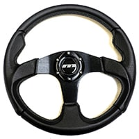 Steering Wheel, 13 Sport, Black Moulded