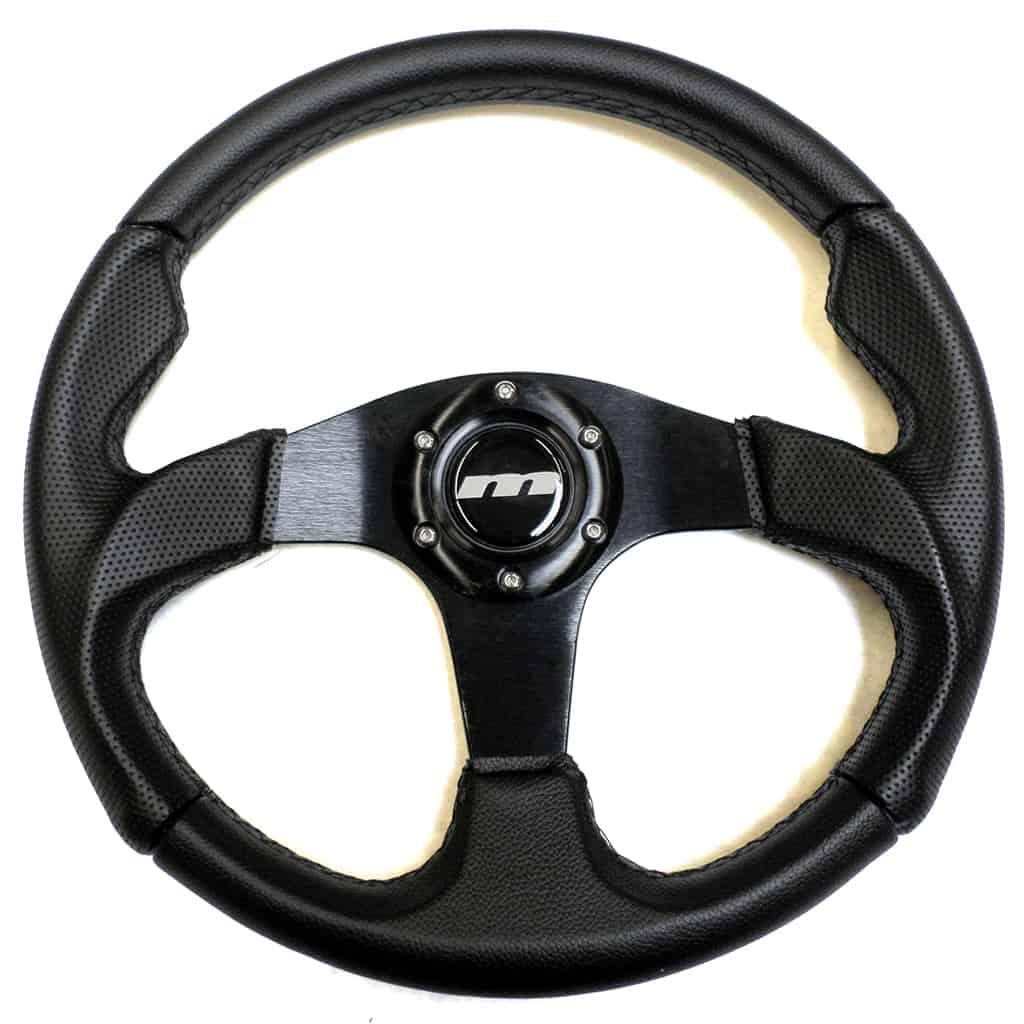 Steering Wheel, 13'' Sport, Black Moulded