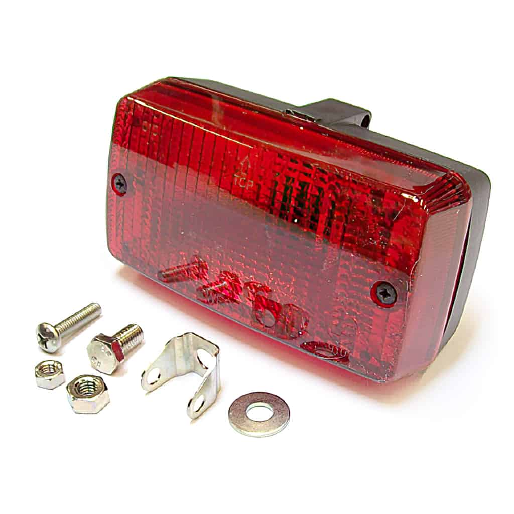 Fog Lamp, rear, red