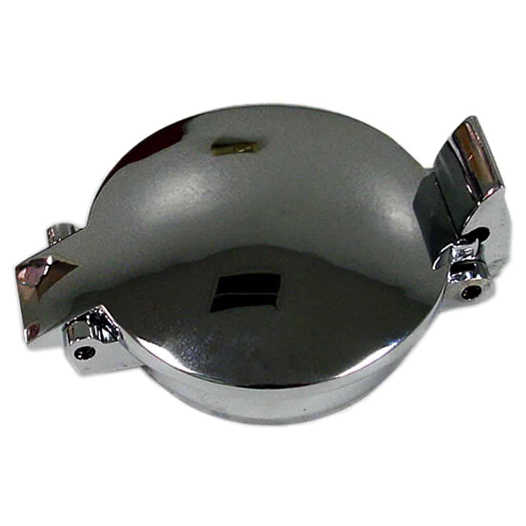 Flip Top Aston Gas Cap Cover, Chrome