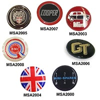 Emblem, Round, Self Adhesive