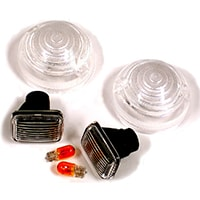 Lens Kit, Clear, Front & Side Marker