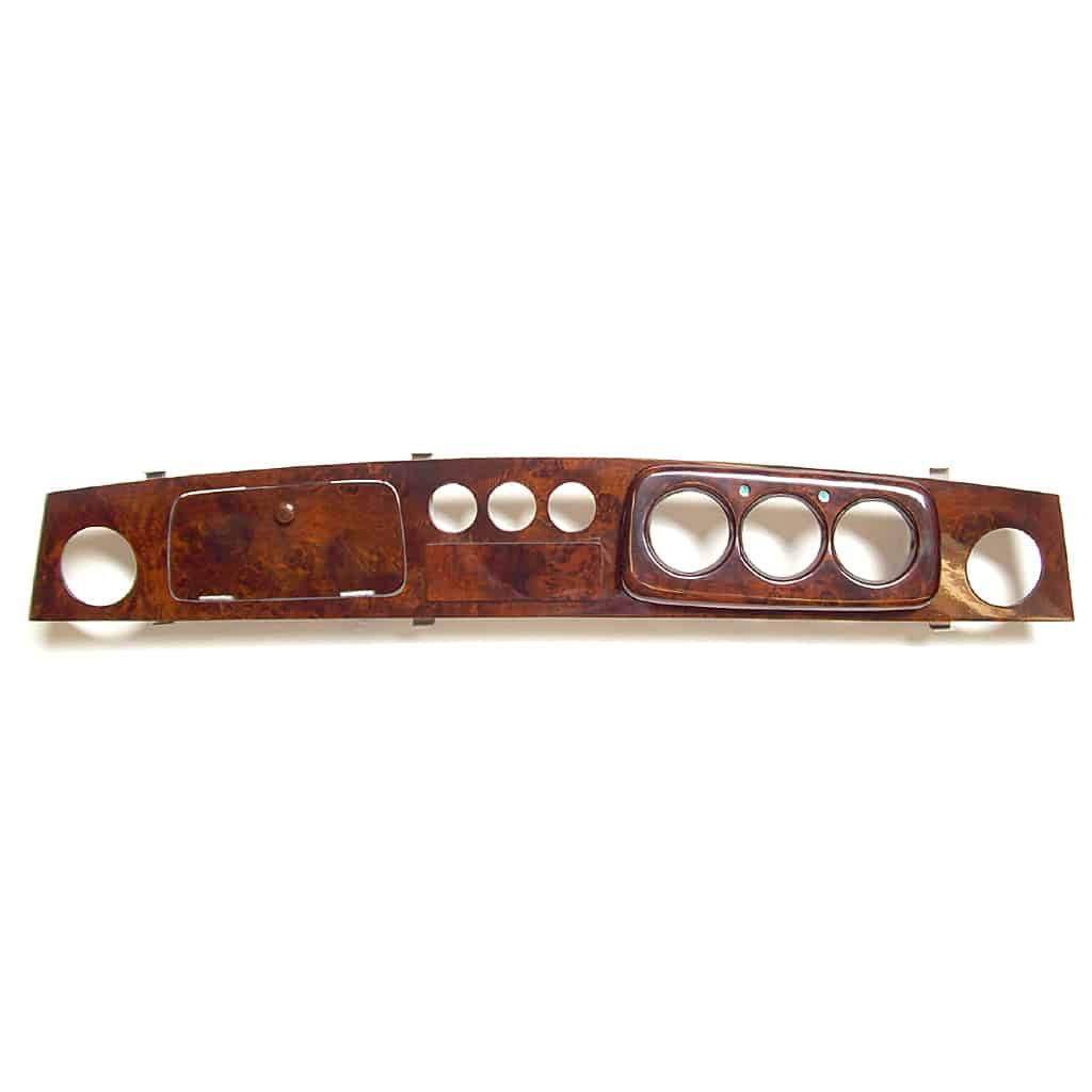 Dashboard, Burl Walnut, 3+3