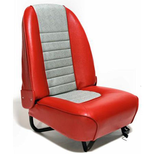 S3050 (left hand) in Tartan Red