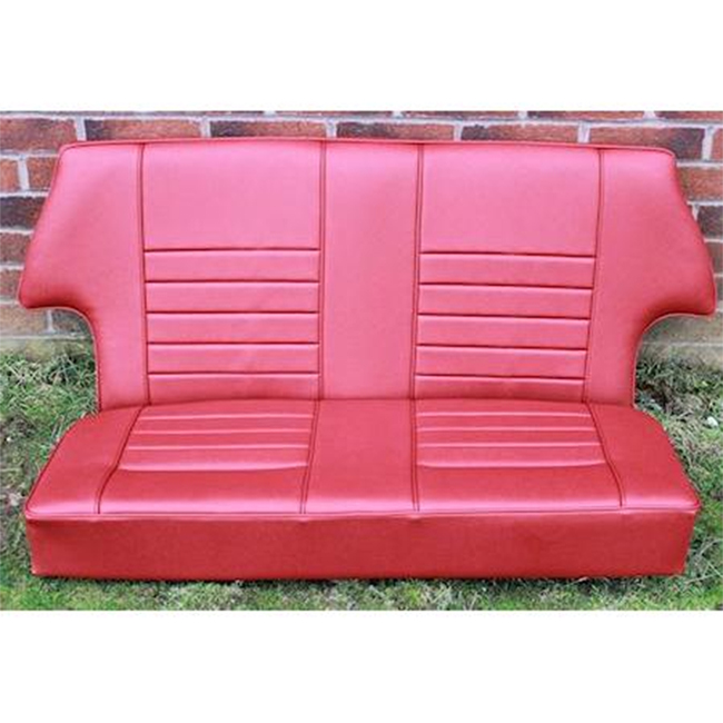 Rear Seat Assembly, All Saloons, Leather