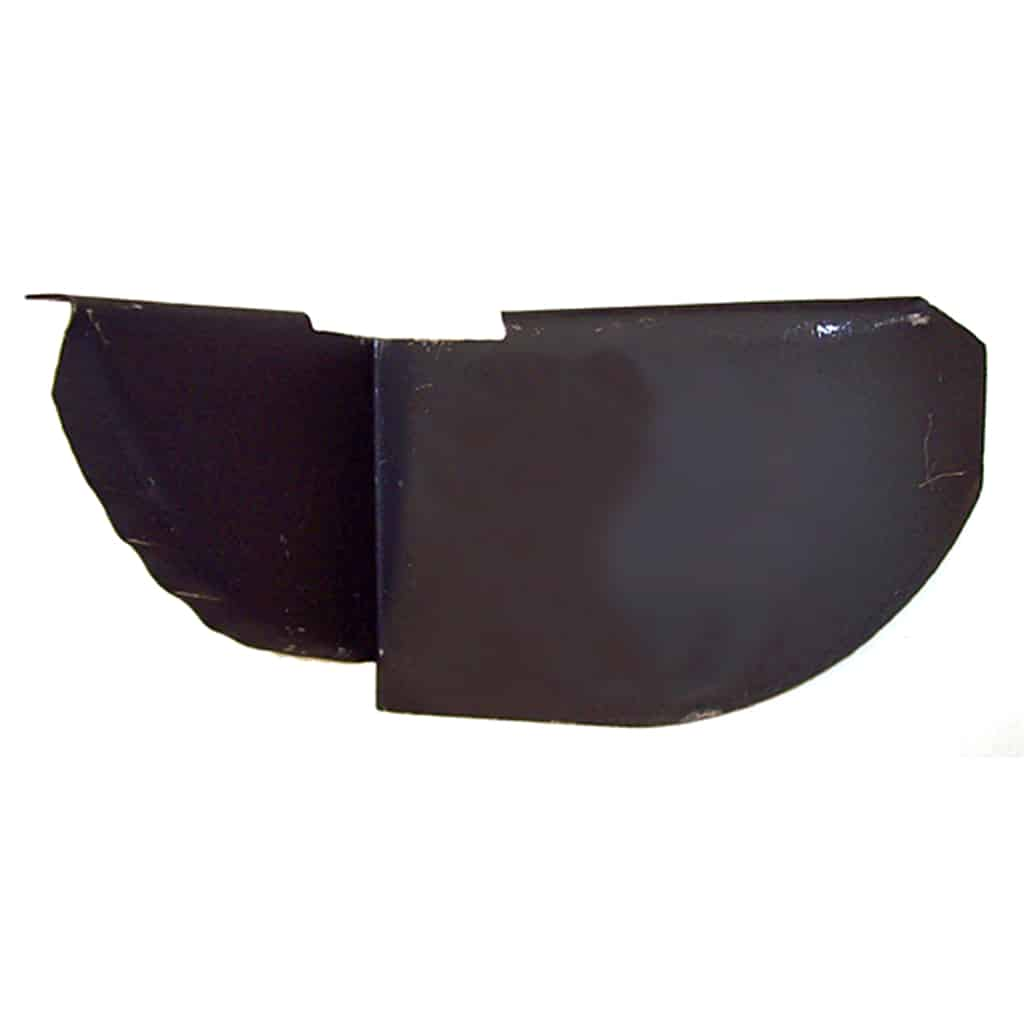 Rear Valance Closing Plate, Saloon