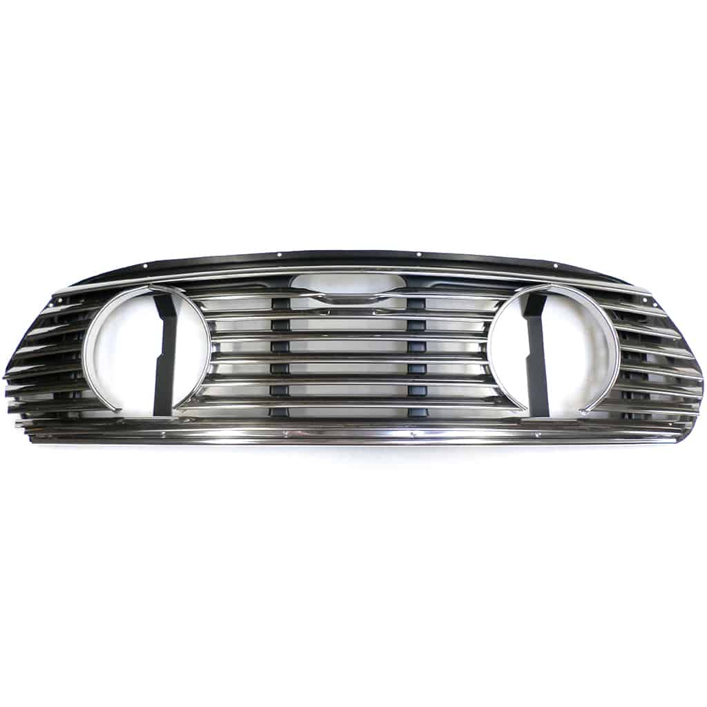 Grille, Mk2-on, w/ Lamp Openings