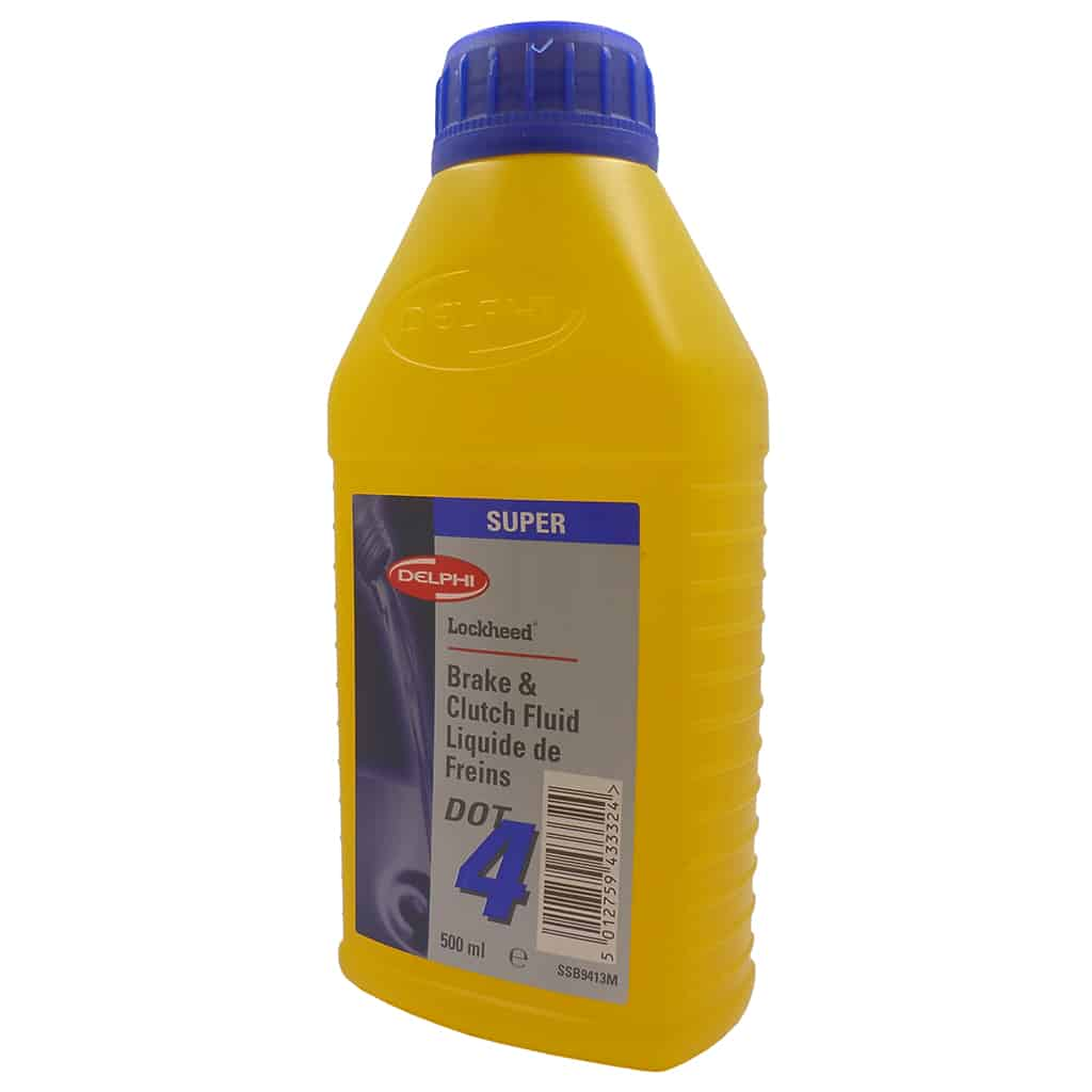 Brake Fluid, Lockheed DOT4, 500ml