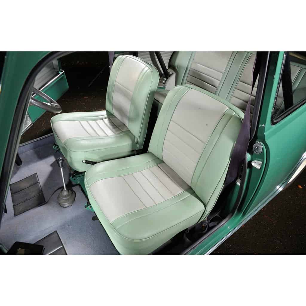 Seat Cover Kit, Front & Rear, Mk1 Cooper & Cooper S (SC3010) - SC3010