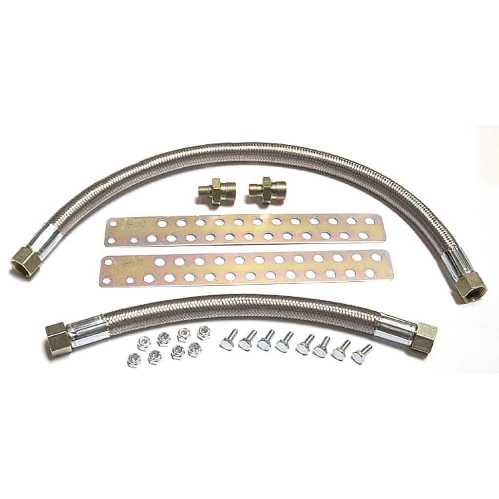 Oil Cooler Hose Kit, extra length