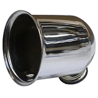 Tachometer Mounting Pod, Chrome