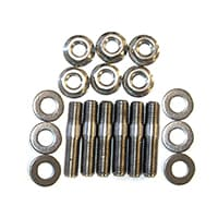 Manifold Stud & Hardware Kit, stainless steel
