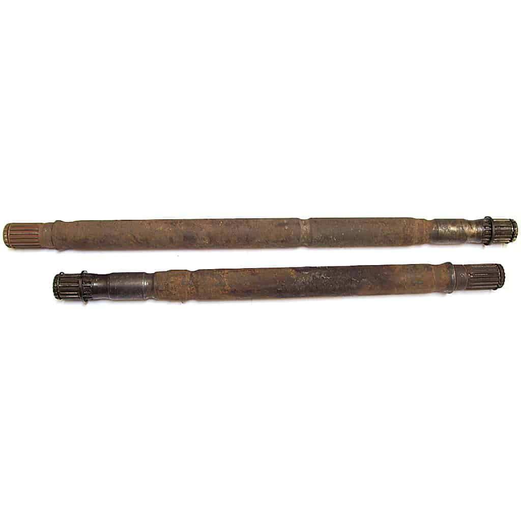 Drive Shaft Pair, Pot Joint, Used