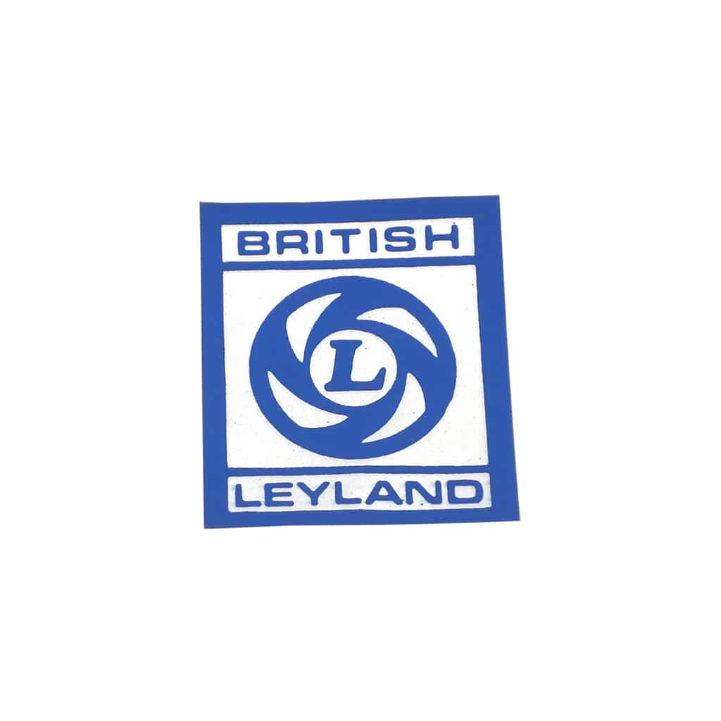 Valve Cover Sticker, Leyland