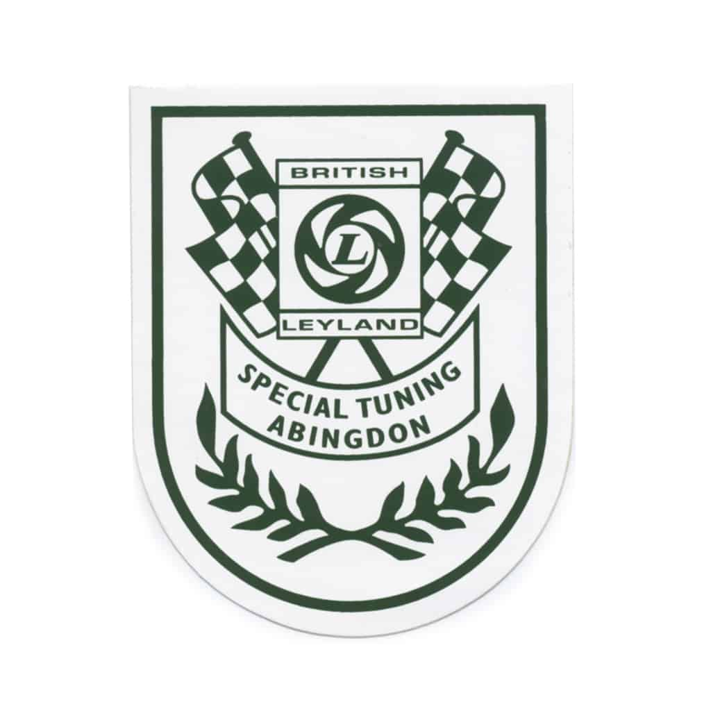 Decal, Abingdon Special Tuning