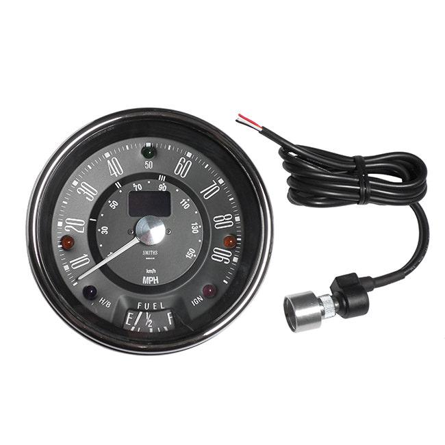 Speedometer, Electronic, Center Binnacle