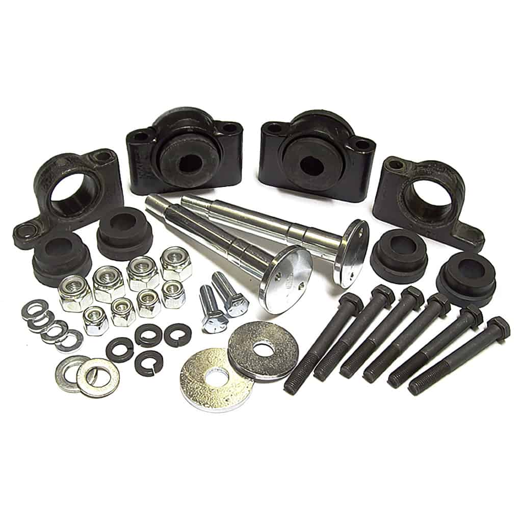Master Rear Subframe Mounting Kit