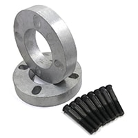 "Wheel Spacer, 1"", w/ Studs"