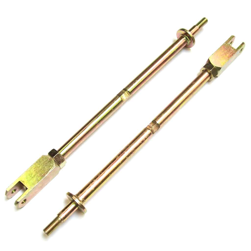 Diagonal Tie Rods, Heavy-Duty, Adjustable, Pair