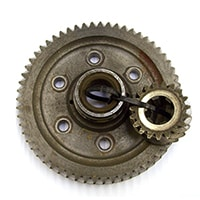 Final Drive Gear Set, 3.1, Used