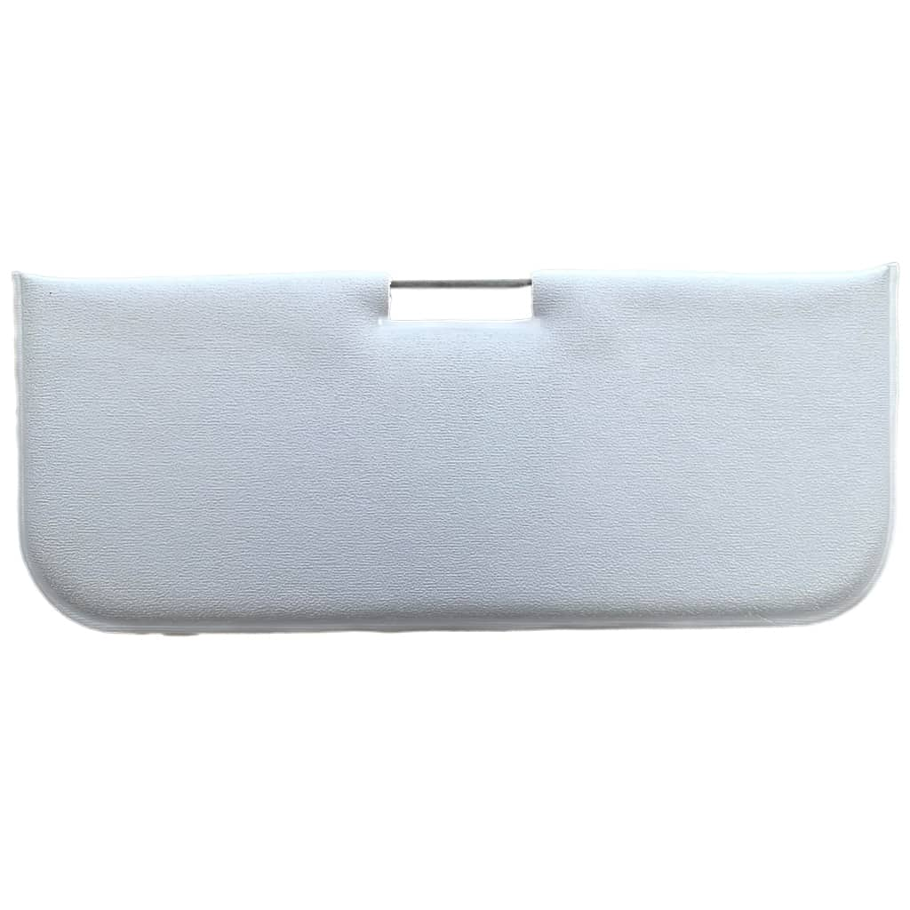Sun Visor, 1959-1964, Center Mount, Grey