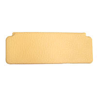 Sun Visor, 1966-1969, Cream-Crackle