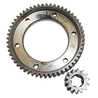 Final Drive Gear Set, 3.93 STD/LSD, Quaife