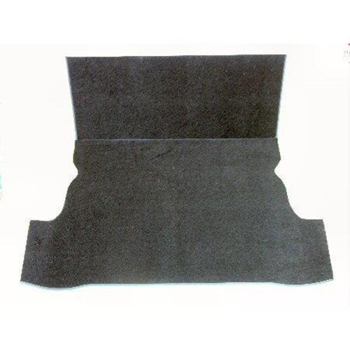 Rear Carpet Set, Estate, 1966-on, BLACK